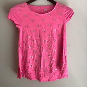 Girls Unicorn tee shirt